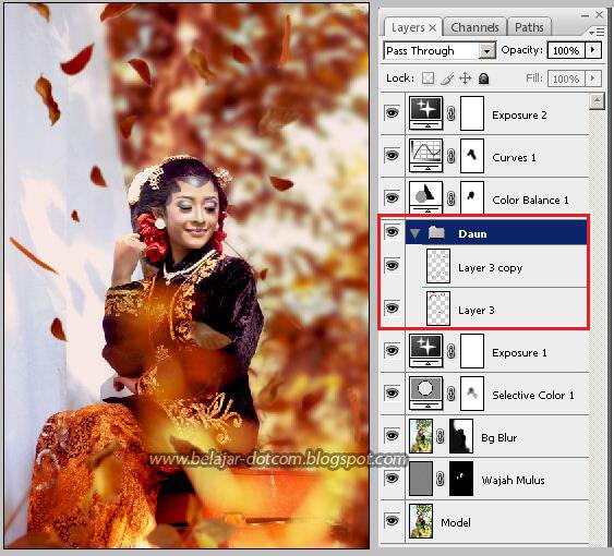 Cara Edit Foto Model Adat Jawa Keren di Photoshop ...