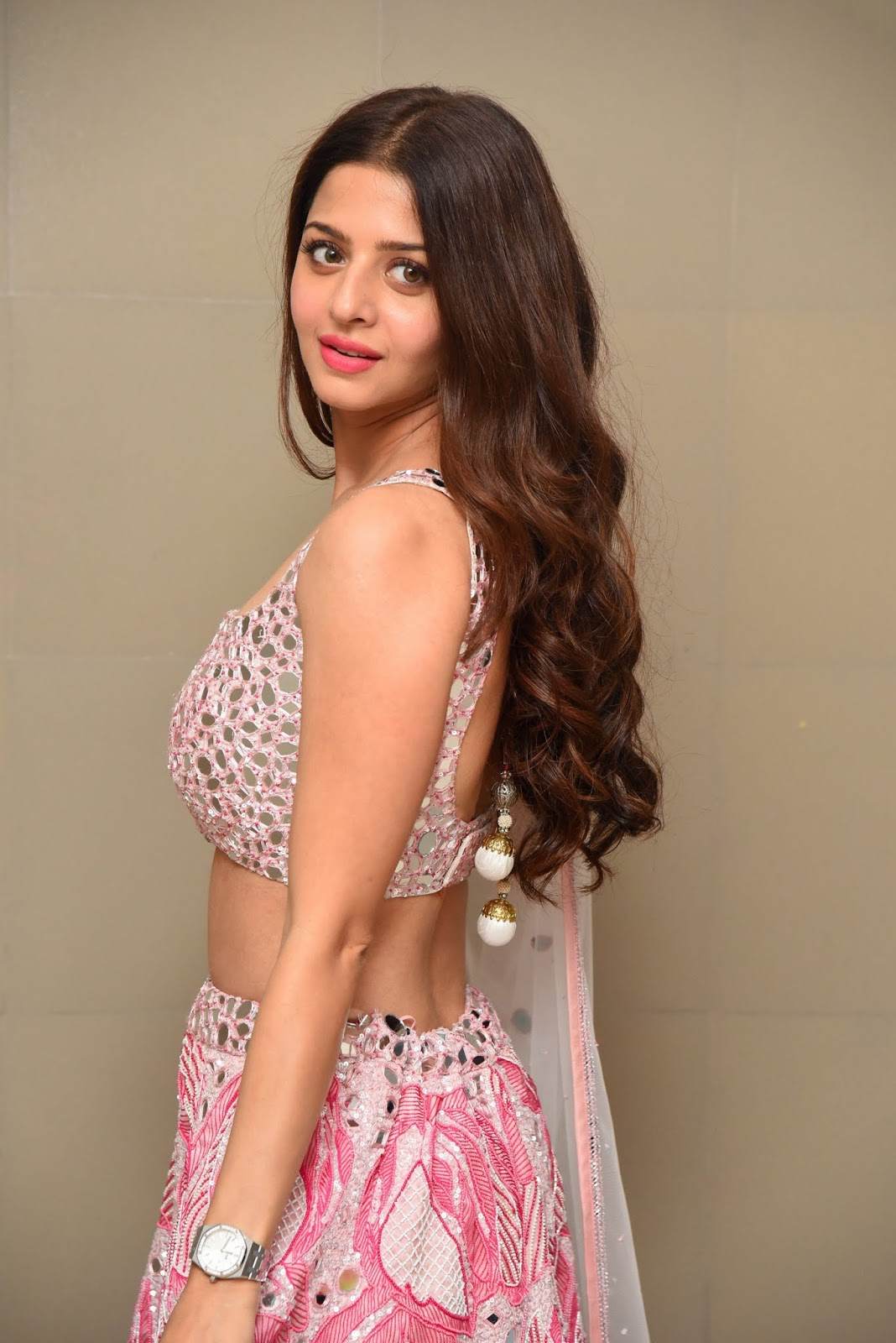 Vedhika During Ruler Movie Success Meet