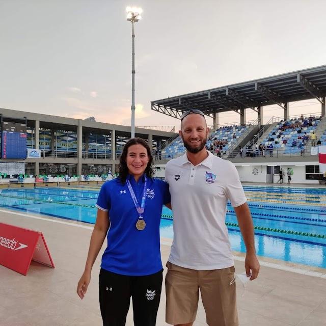 Colombense é o único treinador brasileiro atuando no exterior na Natação Olímpica em Tóquio