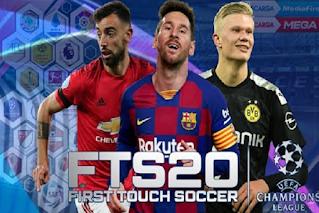 FTS 2020 MOD UEFA Champions League & Kits 2020/2021