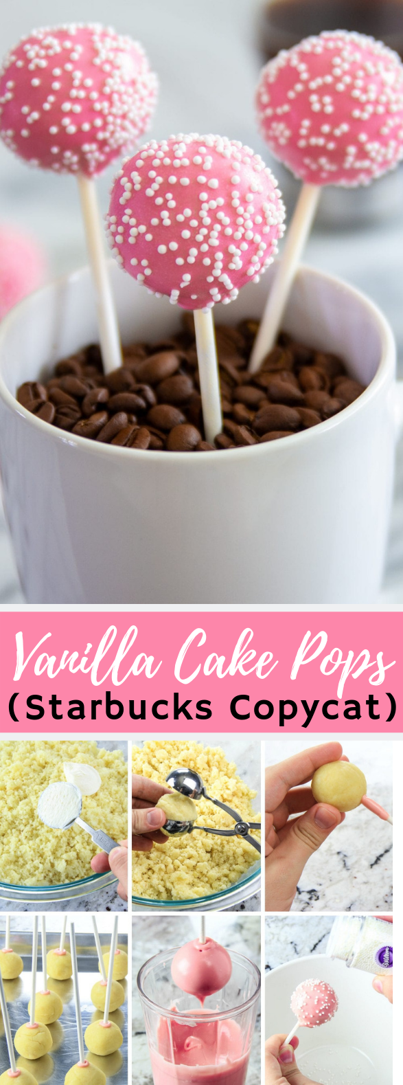 How to Make Cake Pops- Starbucks Copycat #desserts #candy