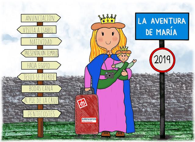 La aventura de María, el viaje de su vida.