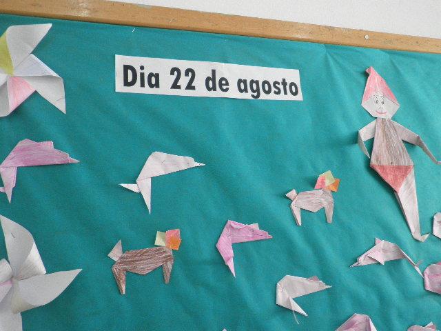 Painel Dia Do Folclore: Professora Jorgeana: Dia Do Folclore (Painel