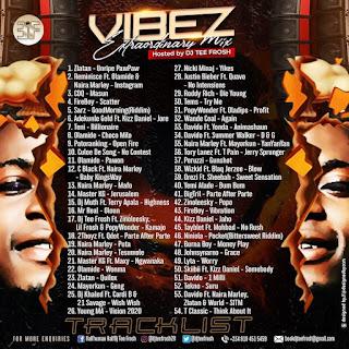 [Mixtape] DJ Tee Frosh – Vibez xtraordinary Mix