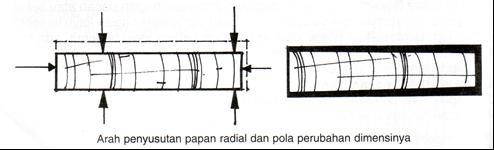 Papan Radial