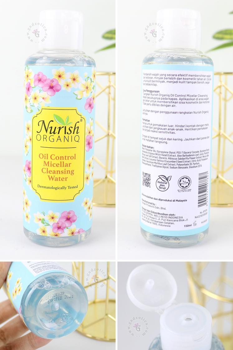 Review Nurish Organiq Micellar Water