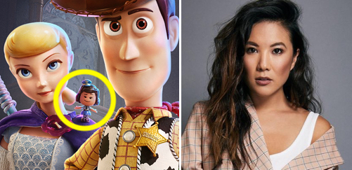Toy Story 4 Giggle McDimples Ally Maki