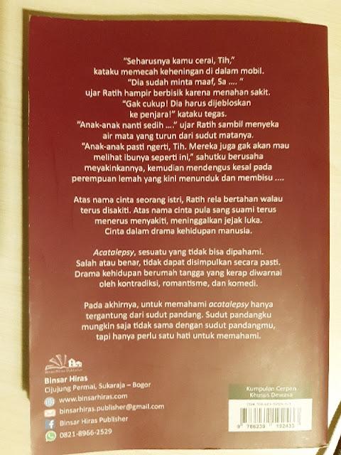 Buku Acatalepsy