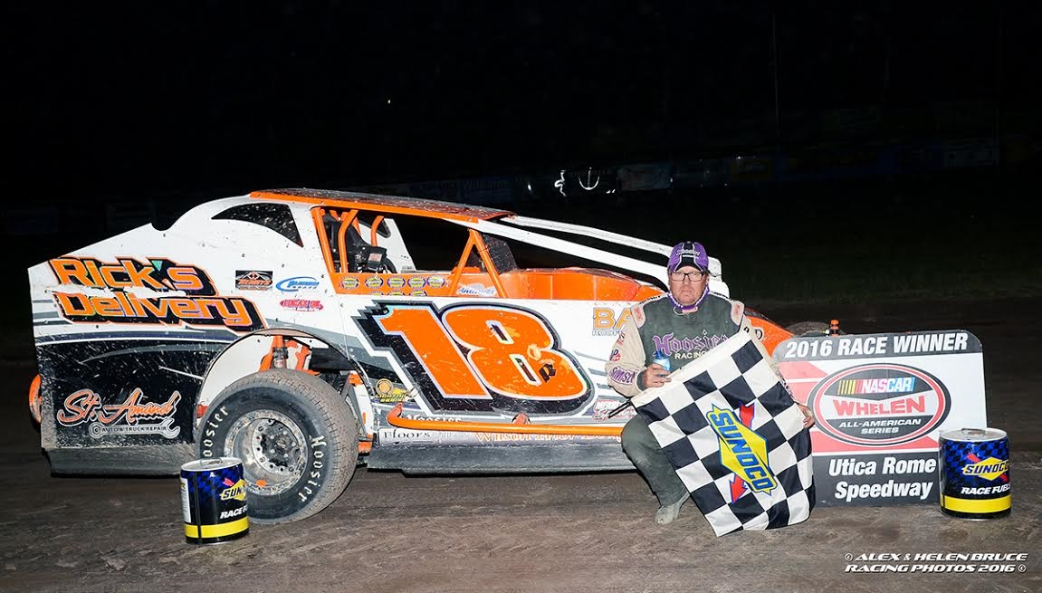 Wny motorsports brad rouse doubles up with roc sportsman for Victory motors rome ny