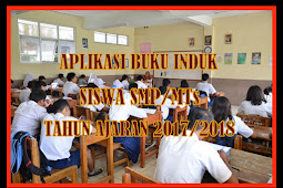 Aplikasi Buku Induk Siswa SMP/MTS Tahun Ajaran 2017/2018