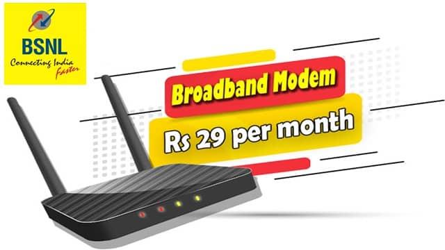 Broadband BSNL ADSL Wifi Modem price