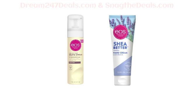 eos hand cream shave cream