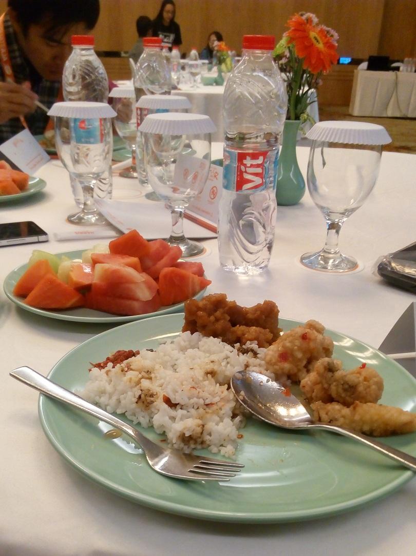 Menu Makan di Acara Gathering MatahariMall