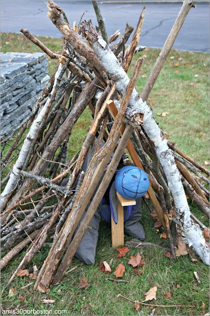 Eeyore en el Return of the Pumpkin People de Jackson en New Hampshire