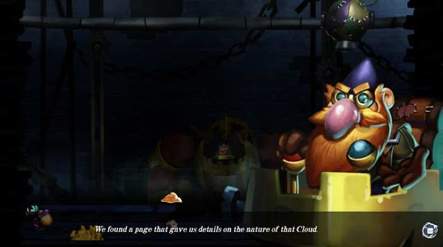 Nubarron The adventure of an unlucky gnome is a mix of fabulous action and puzzle platform.
