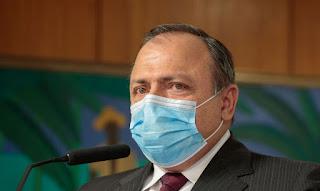 Pazuello admite vírus mutável capaz de contaminar 3 vezes mais, na capital