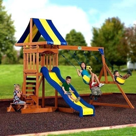 Backyard Discovery Tucson Cedar Wooden Swing Set Manual