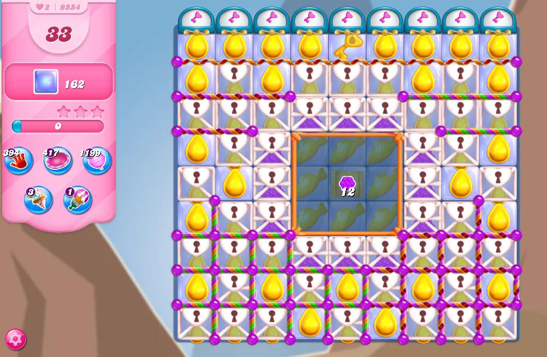 Candy Crush Saga level 9554