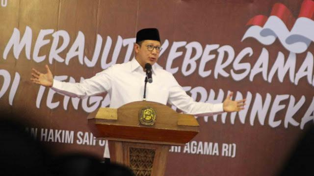 Menteri Agama Tegaskan Tak Ada Bendera Tauhid Dibakar