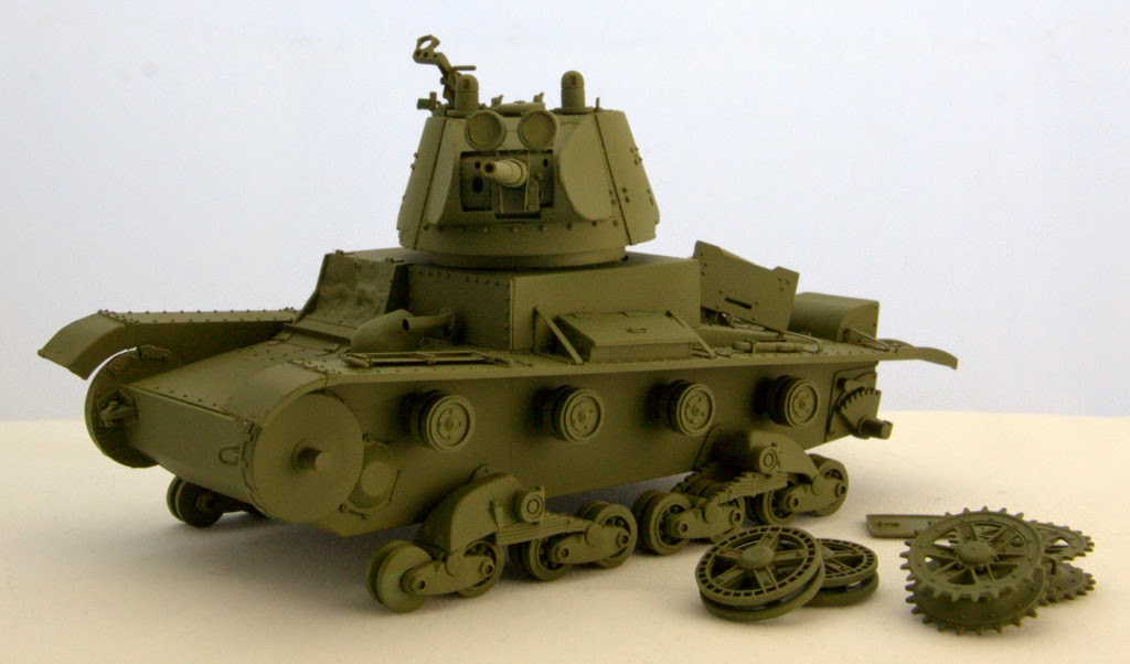 T-26 mod 1938 conical turret