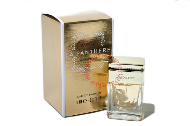 Cartier La Panthere Miniature Perfume