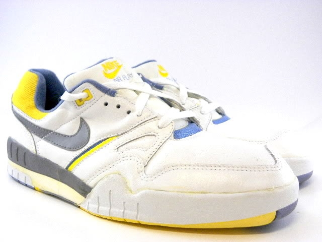 super popular 26a40 7632a ebay.com itm Vintage-New-Nike-Air -Play-1987-White-Gray-Yellow-Tennis-Trainers-Men-Shoes -6-5- 230799231267 pt US Men s Shoes hash item35bcb4c923