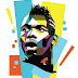 Paul Pogba Juventus Cartoon Wallpaper