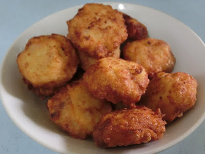 cucur kentang isi ikan