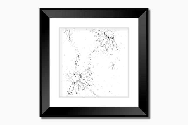 Doodle Flowers Art
