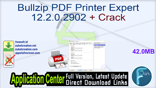 Bullzip PDF Printer Expert 12.2.0.2902 + Crack