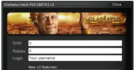 HACK TÉLÉCHARGER V2.0 GLADIATUS