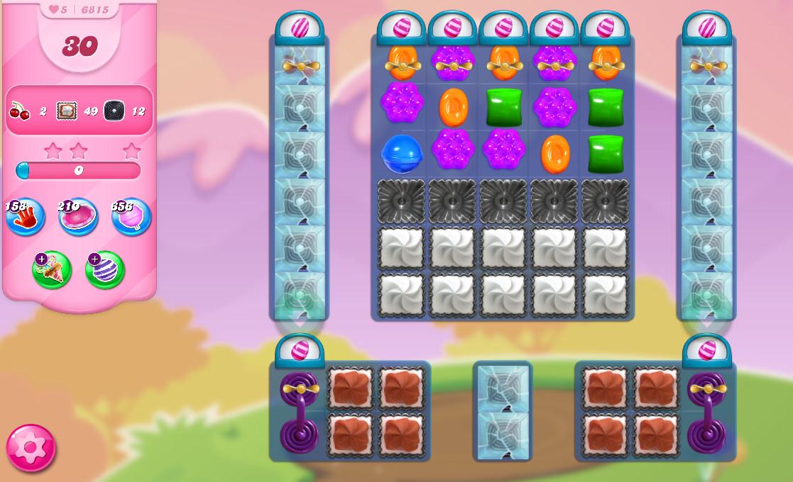 Candy Crush Saga level 6815