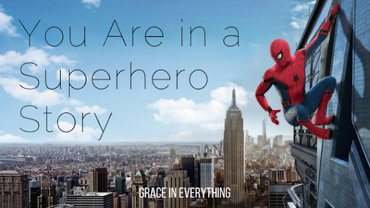 You Are in a Superhero Story