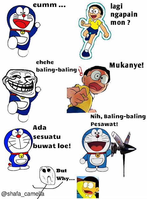 Gambar Lucu Kartun Percakapan Gambar Meme