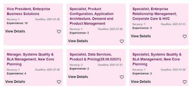 মোবাইল অপারেটর রবি সিম কোম্পানি নিয়োগ বিজ্ঞপ্তি ২০২১ - Mobile Operator Robi SIM Company Job Circular 2021 - সিম কোম্পানিতে চাকরি ২০২১