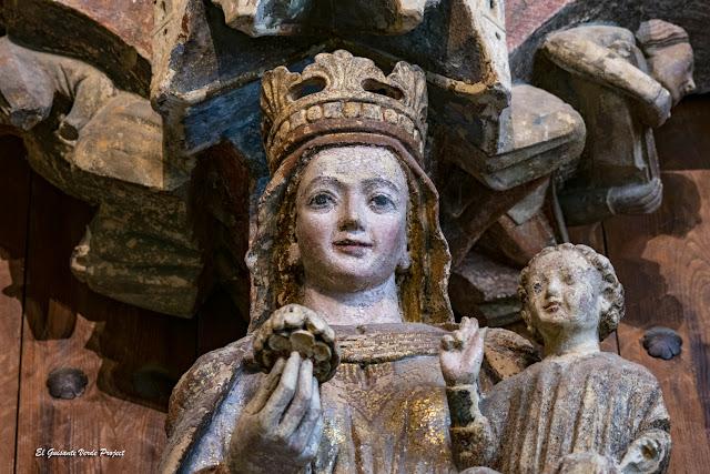 Virgen del Parteluz de la Portada de la Majestad - Toro