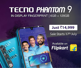 TECNO PHANTOM 9 debuts on Flipkart at INR 14999