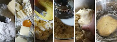 Zubereitung Ausstecherle (Schwäbische Butterplätzchen) - Mürbeteig