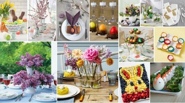 60+ Ιδέες για το Πασχαλινό τραπέζι σας