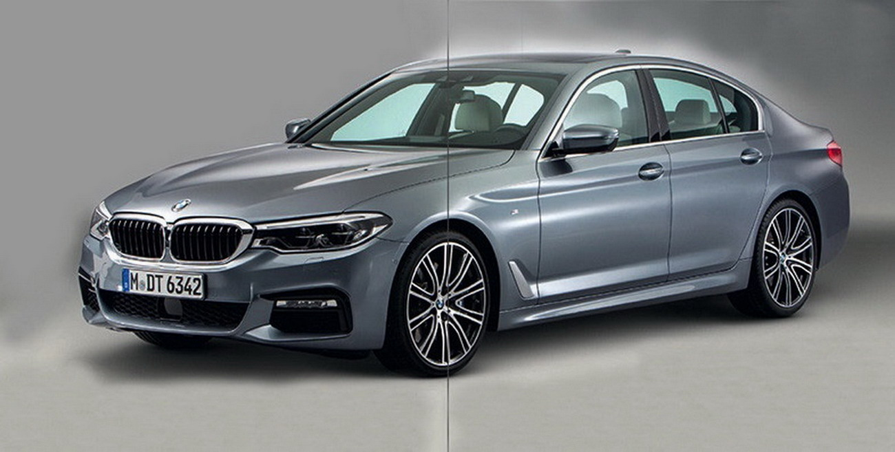 2017 Bmw 5 Series Photos Leaked Giving Us Our First Look