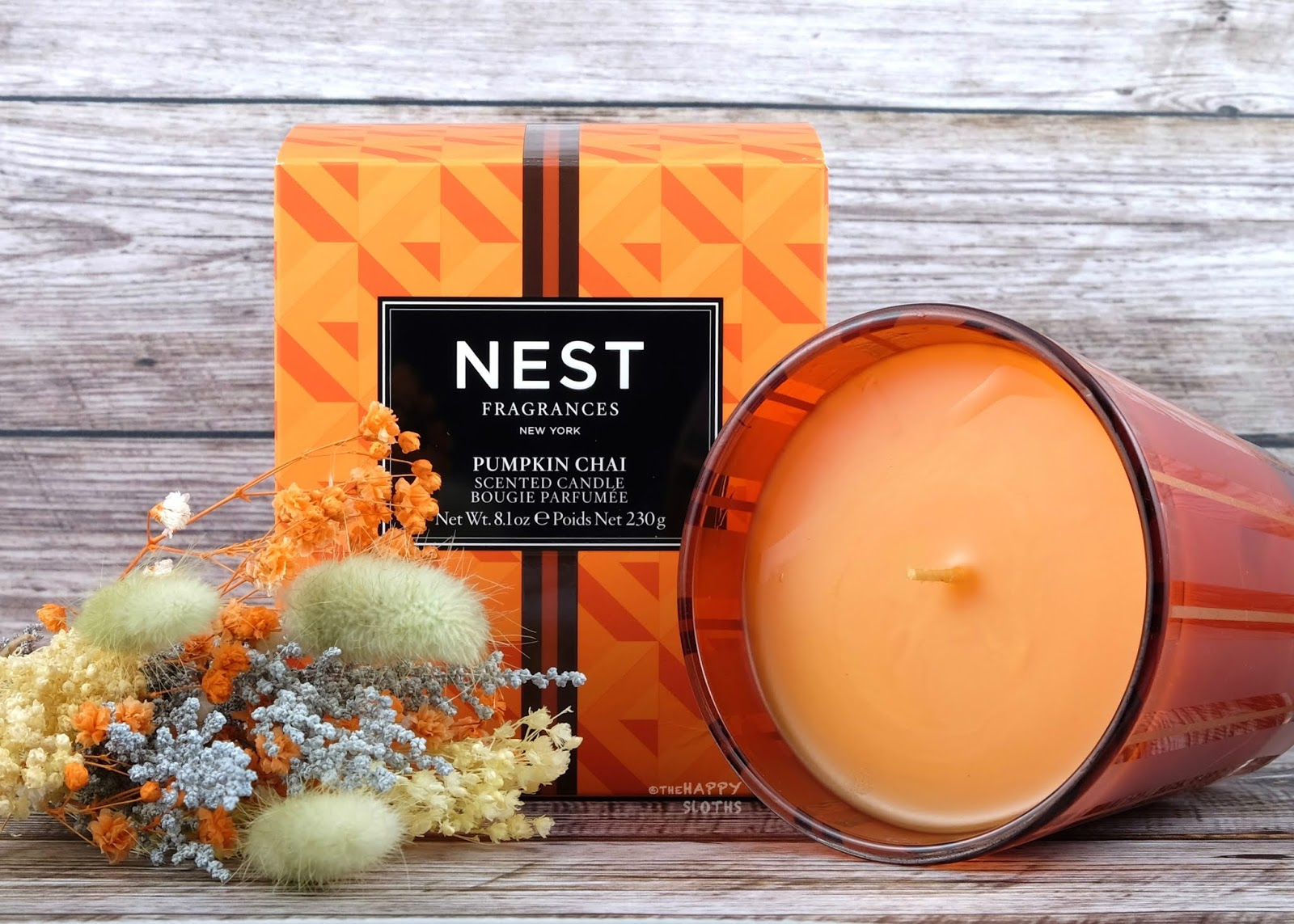 NEST Fragrances | Pumpkin Chai Scented Candle & Reed Diffuser: Review