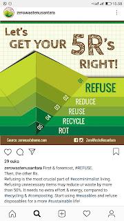 5r untuk zero waste
