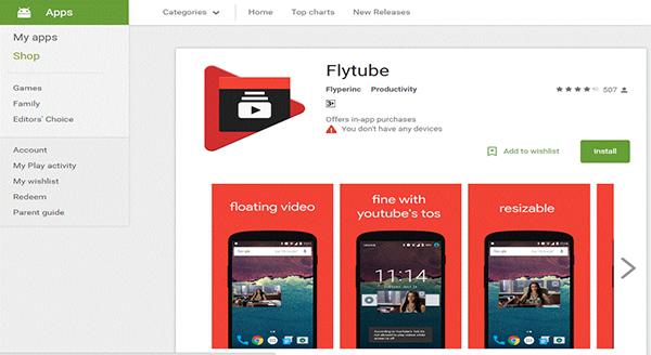 تطبيق متميز سيجعل فيديوهات اليوتيوب التي تشاهدها في هاتفك الذكي تطفو بطريقة رائعة !