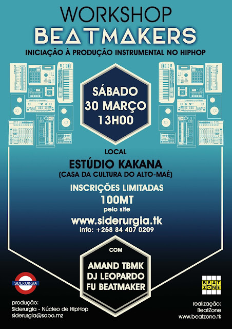 Workshop Beatmakers - 1 | 30 Março 2019