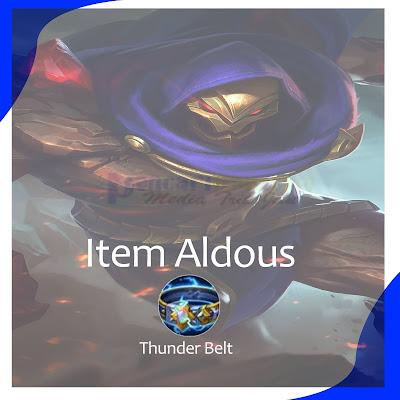 Build Aldous Tersakit Emblem dan Spell 2021