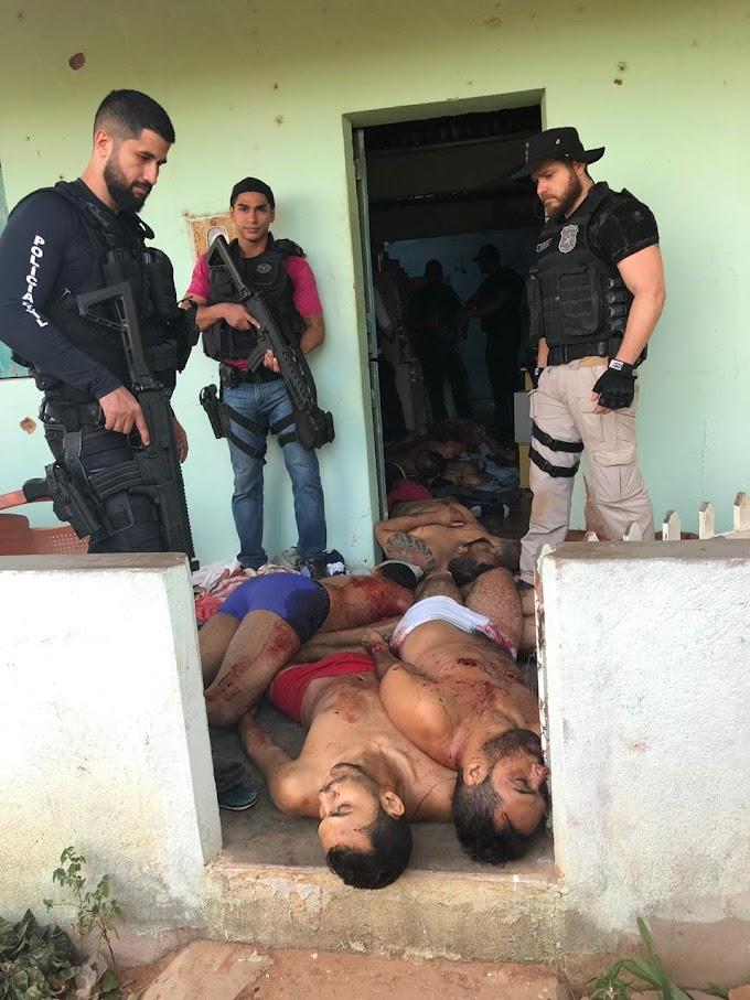 PELO MENOS 11 BANDIDOS FORAM MORTOS EM CONFRONTO CONTRA A POLÍCIAL  NO FINAL DESTA TARDE DE QUINTA-FEIRA (08/11) NA DIVISA DE ALAGOAS  COM PERNAMBUCO.