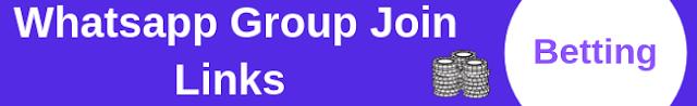 Betting Whatsapp Group Join Links