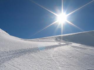 слепота от снега