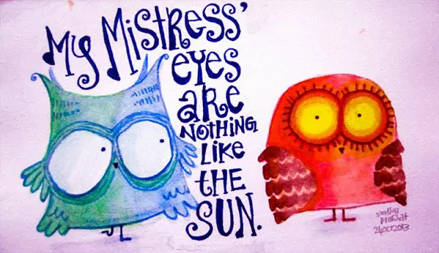 "Complete Analysis on Shakespeare's Sonnet No. 130, ""My Mistress' Eyes are nothing like the Sun"""