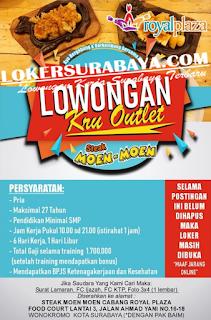 Karir Surabaya Terbaru di Steak Moen-Moen Juni 2019